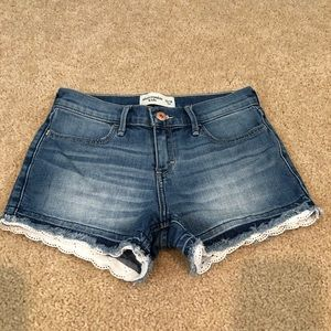 Girls Abercrombie Shorts